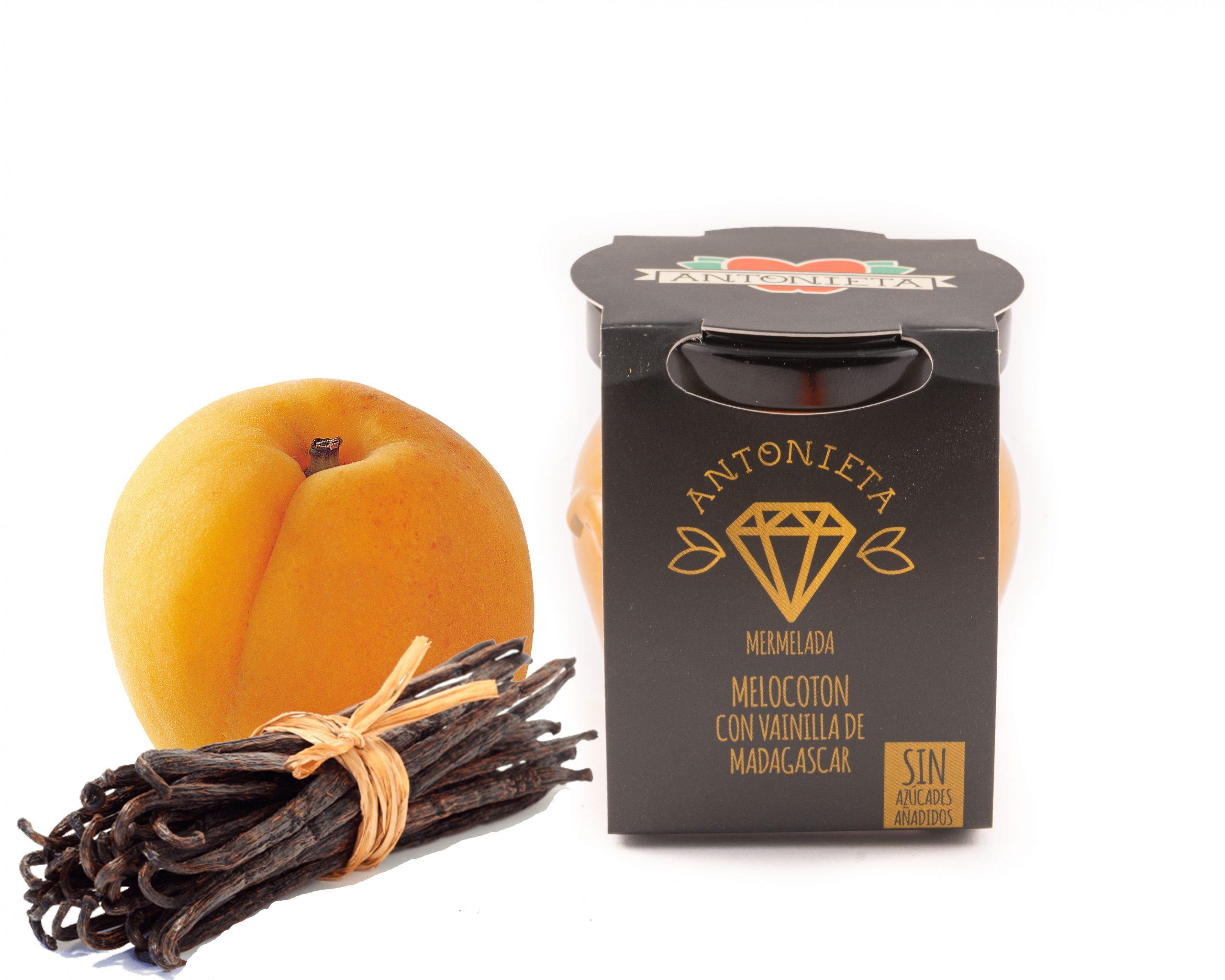 Melmelada de Prèssec amb vainilla de Madagascar de la marca Antonieta Fruits