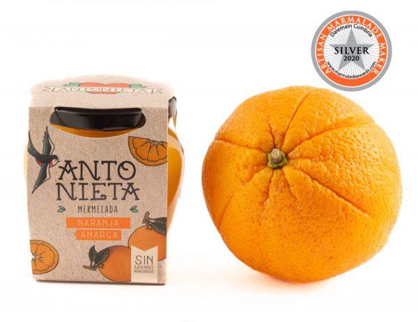 Melmelada de taronja amarga de la marca Antonieta Fruits