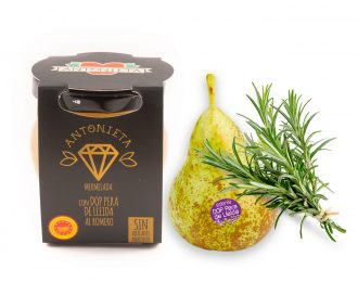 Melmelada de pera de la D.O. de Lleida al romaní – Gamma gourmet – 230 gr